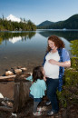 Lost Lake Maternity Photos