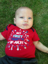 Son's first fourth